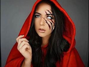Red Riding Hood Halloween Makeup Tutorial YouTube