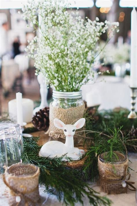 dear rustic diy wedding centerpiece january wedding
