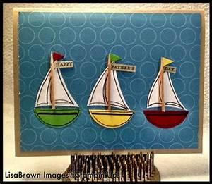 Stampin' Up! Video Tutorial Nautical Father's Day Card ...
