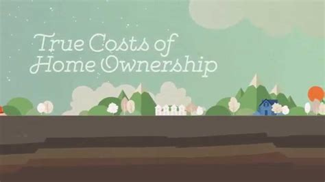 true costs  home ownership youtube