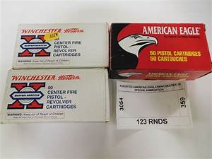 assorted american eagle winchester 38 special ammunition With american eagle order invoice