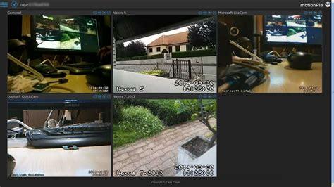 windows 7 bureau motionpie surveillance vidéo avec raspberry pi épinglé