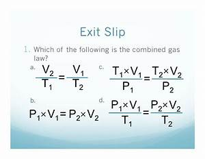 2 22 What Is The Combined Gas Law