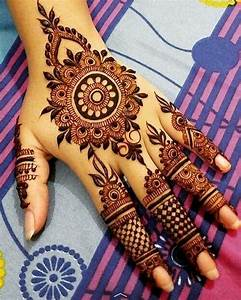 10+ Simple Arabic Mehndi Designs [2017] - Art & Craft Ideas