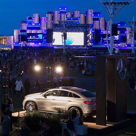 Music festivals are more than just music, they're about experiences, and the Mercedes-AMG GLE63 ...