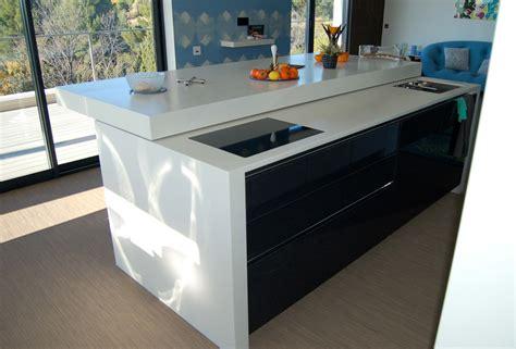 table coulissante cuisine cuisine ilot central table manger nouveaux modèles de maison