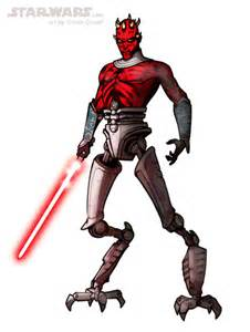 Star Wars Darth Maul Sketches