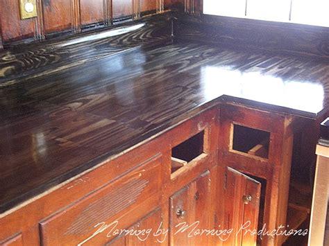 Morning  Morning Productions Diy Kitchen Countertops