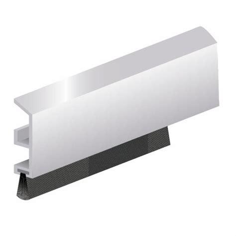 joint isolant bas de porte profil 233 ads b avec joint brosse en applique bricozor