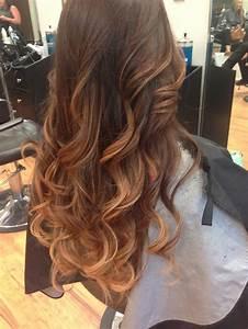 Ombré Hair Marron Caramel : ombre hair from brown to caramel hair and makeup ~ Farleysfitness.com Idées de Décoration