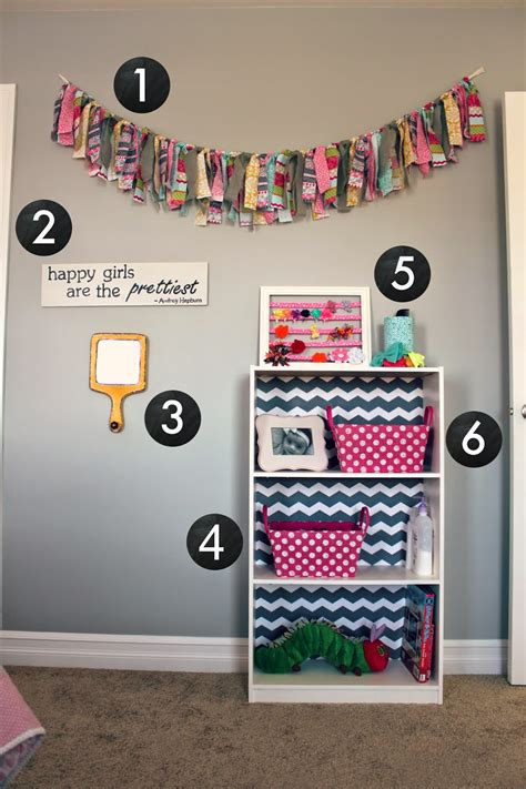 All Things Diy Room Reveal Girls Bedroom On A Budget
