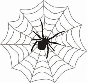 Spider With Web Clip Art at Clker.com - vector clip art ...