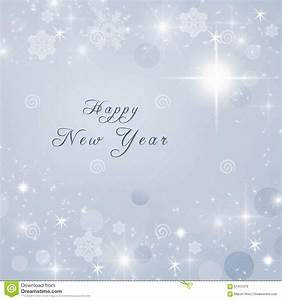 Happy New Year Text Written On Grey Bright Sparkly Winter ...
