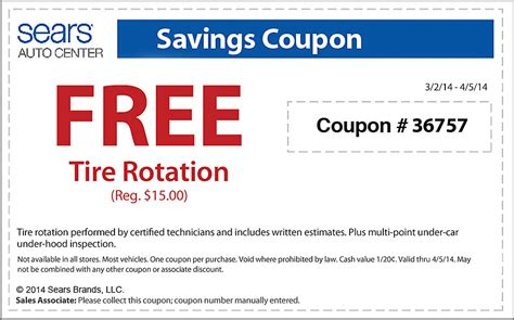 tire coupons archives cheap oil change coupons
