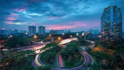 Jakarta Indonesia Imac Wallpapers Inch Allmacwallpaper