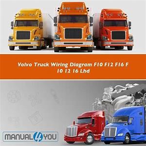 Volvo Truck Wiring Diagram F10 F12 F16 F 10 12 16 Lhd