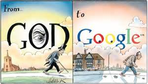 Google God Cartoon