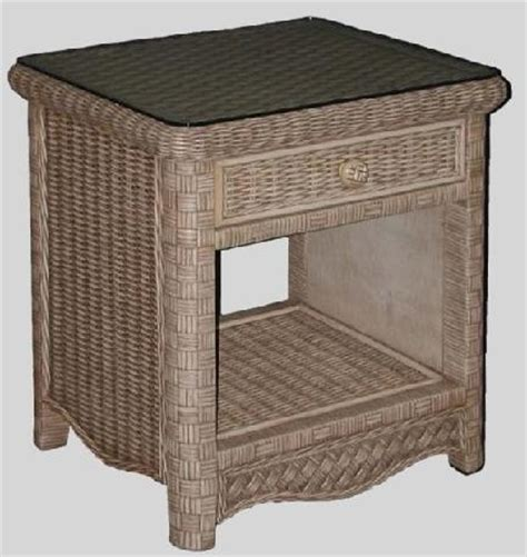 Wicker Nightstand White by White Wicker Nightstand Wicker Bedside Table