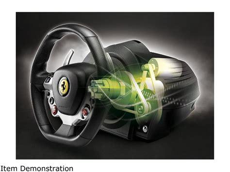 Detachable 7/10 scale replica of the ferrari 458 italia wheel. Thrustmaster TX Racing Wheel Ferrari 458 Italia Edition - Xbox One 663296419286   eBay