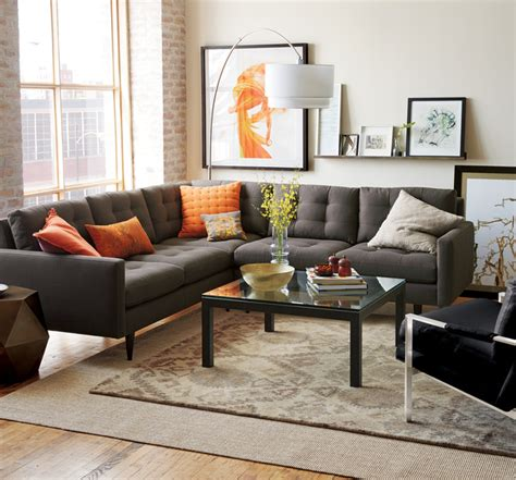 crate and barrel couches crate and barrel living