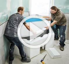 Badewanne Einbauen Anleitung : badewanne einbauen mit wannenf en anleitung der hornbach meisterschmiede ~ Markanthonyermac.com Haus und Dekorationen