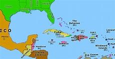 Spanish-American War   Historical Atlas of North America ...