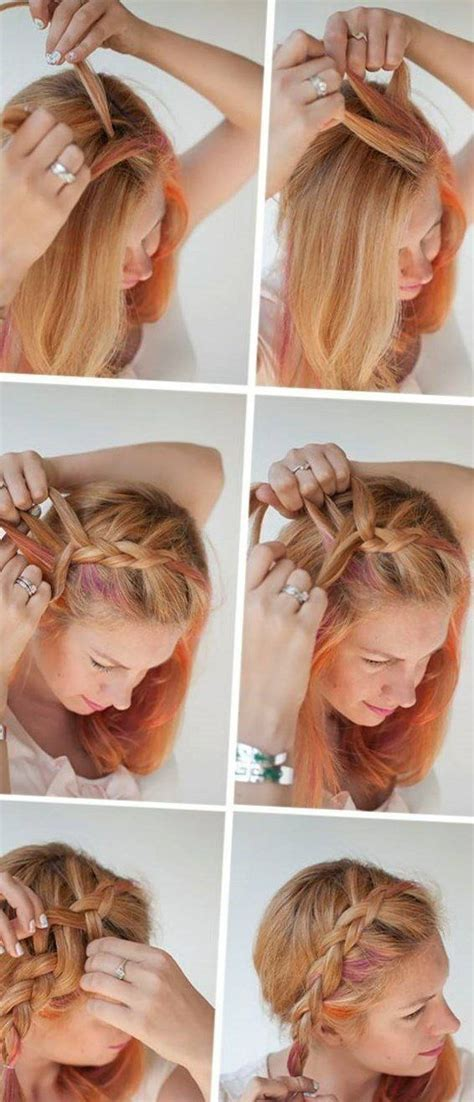 bildergebnis fuer frisuren kurze haare selber machen