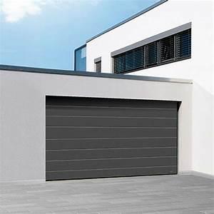 Porte De Garage Novoferm : porte garage sectionnelle satin novoferm iso 45 ~ Dallasstarsshop.com Idées de Décoration