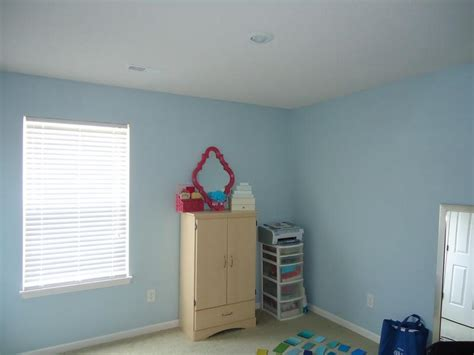 how to repair baby blue paint color for wall interior