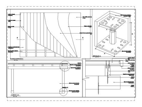Details pergola in AutoCAD   CAD download (212.44 KB