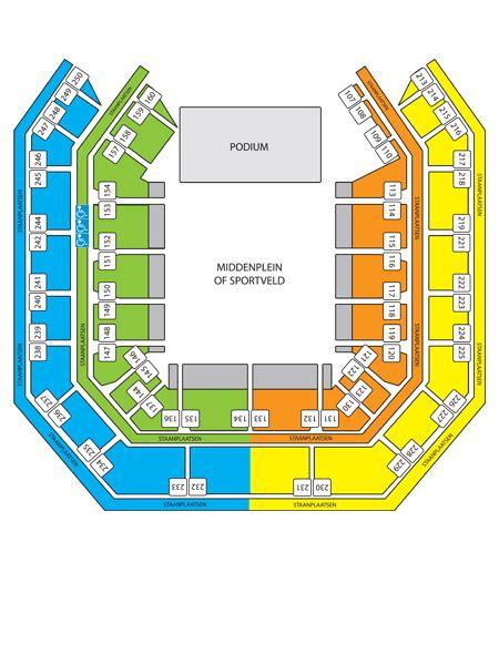 plan de salle lotto arena