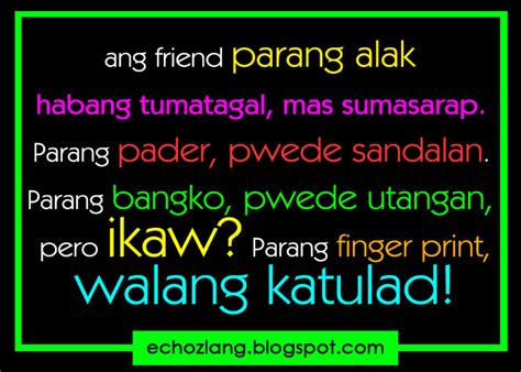 Quotes About Friendship Tagalog Quotesgram. Birthday Quotes Selfie. Relationship Quotes One Liners. Quotes About Moving On After Graduation. Zodiac Birthday Quotes. Quotes About Change Nursing. Motivational Quotes Parenting. Friendship Quotes Shel Silverstein. Cute Quotes Messages For Him
