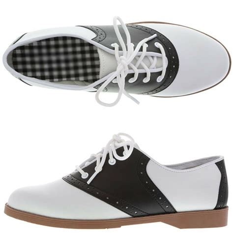 shoes saddle womens 50s classic shoe brand nwob sizes oxford oxfords styles bass payless geek chic woman clothing flats dresses