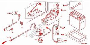 Wire Harness  Battery For Honda Fourtrax 420 Rancher 4x4