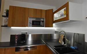 eclairage de cuisine meilleures images d39inspiration With eclairage plan de travail cuisine