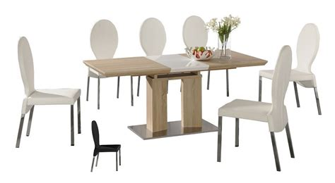 wooden dining table and 6 chairs extending wooden dining table and 6 chairs homegenies