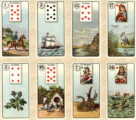 le de poche gratuit jeu lenormand version antique de poche