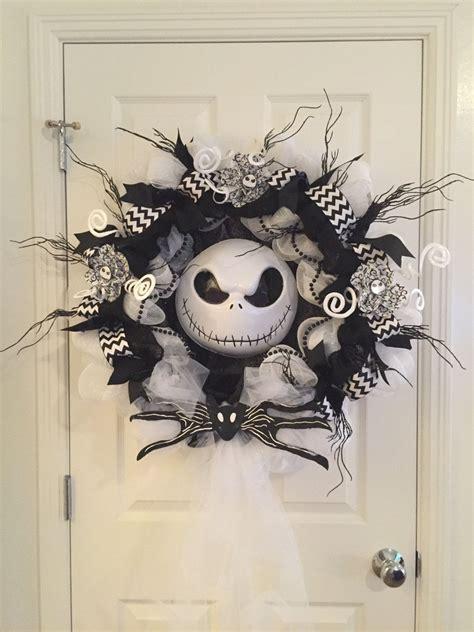 Nightmare Before Decorations by Xl Nightmare Before Wreath Skellington