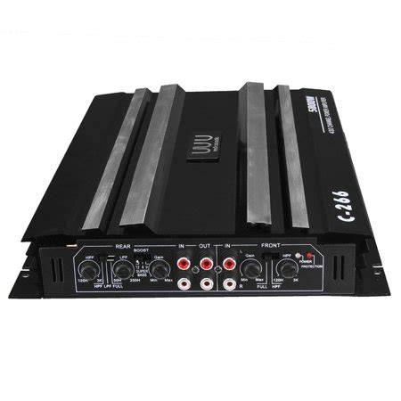 Professional Powerful Watt Channel Car Stereo