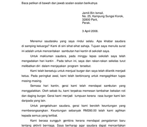 contoh surat rasmi laporan kehilangan barang rasmi suf