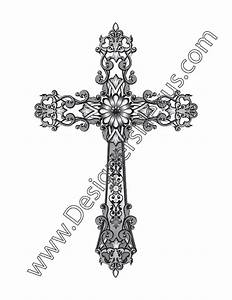 The gallery for --> Ornate Cross Png
