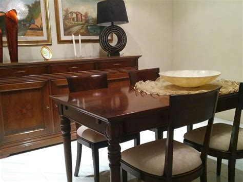 Sala Da Pranzo Le Fablier by Offerta Tavolo Sedie E Credenza Le Fablier