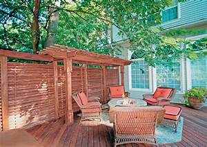 Design Ideas for Outdoor Privacy Walls, Screen and
