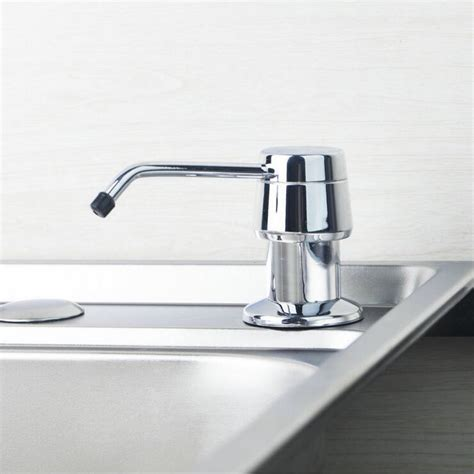kitchen sink soap dispenser for hand or dish soap stainless steel dish basin liquid soap dispenser kitchen