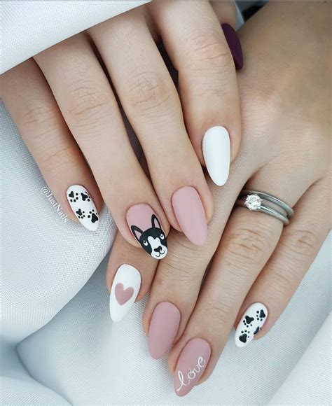 short almond nails designs
