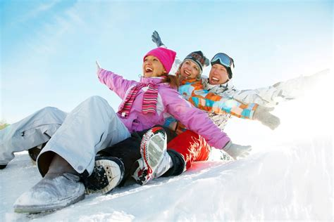 enjoy the chills of winter at these majestic family vacation spots
