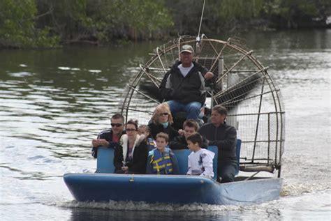 everglades fan boat rides top 10 attractions near miami beach