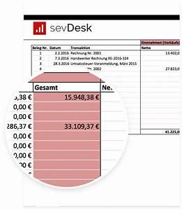 Einnahme überschuss Rechnung Kleinunternehmer : kostenlose e r vorlage f r deine einnahme berschuss rechnung ~ Themetempest.com Abrechnung