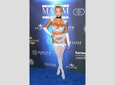 Celebrities come out for Maxim's annual Halloween party