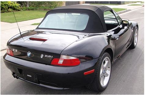 199602 Bmw Z3 & M Roadster Convertible Tops And